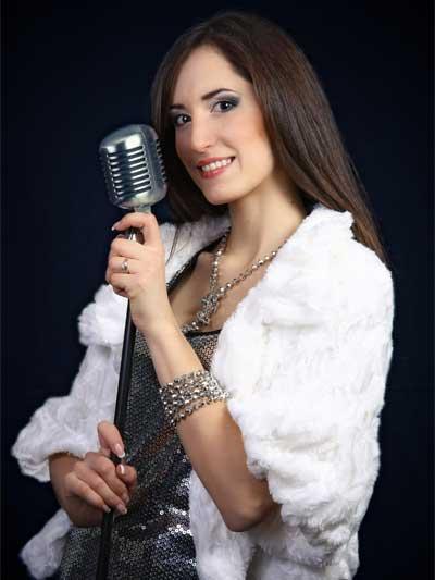 Moderatorin Kristina